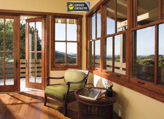 wood windows doors pella